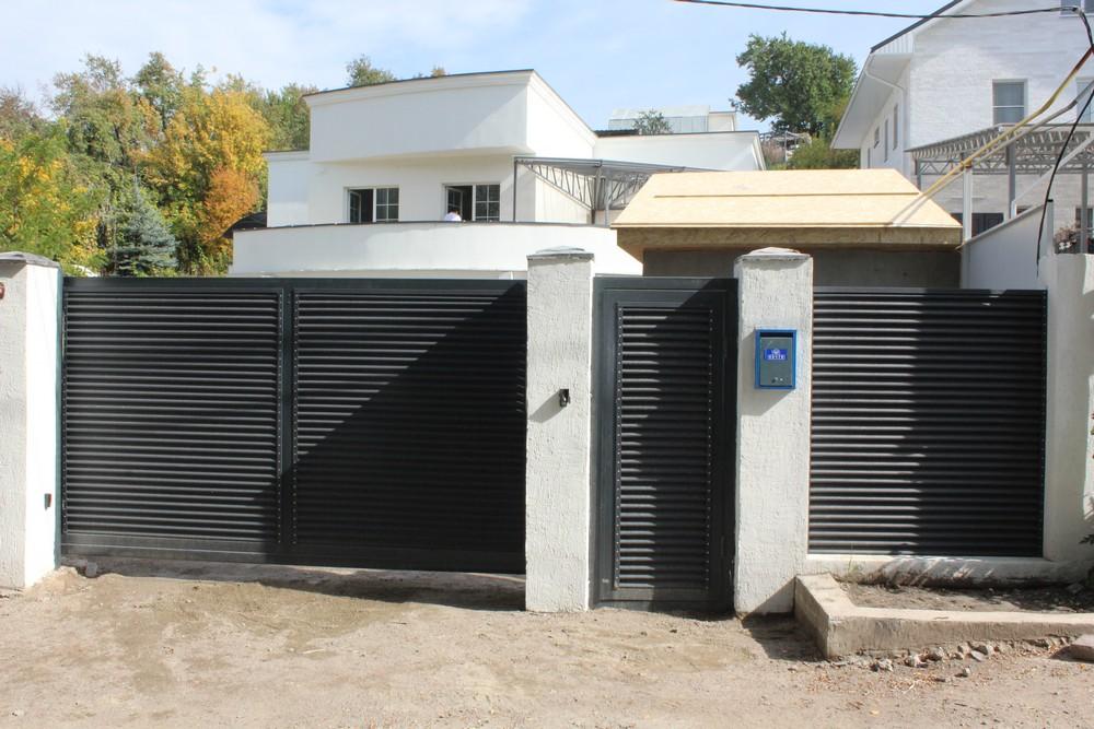 Забор, жалюзи (частное лицо)
