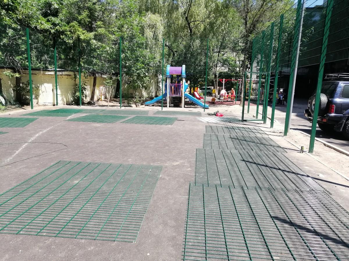 Спортивные площадки в Бостандыкском районе г. Алматы