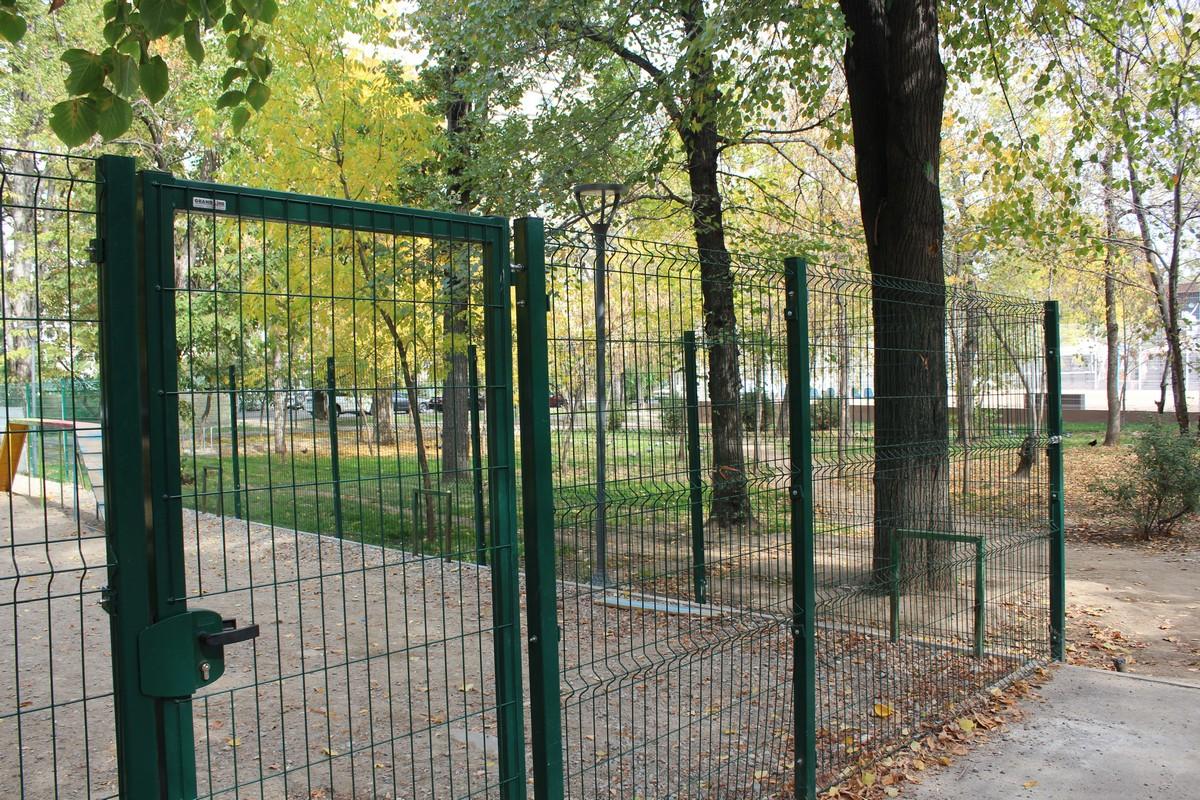 3д сетка для парка (г.Алматы)